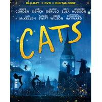 Cats (Blu-ray + DVD + Digital Copy)