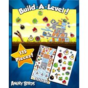 Angry Birds Build-A-Level Magnetic Playset