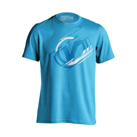Virtue Paintball T-Shirt - Distortion - Turquoise