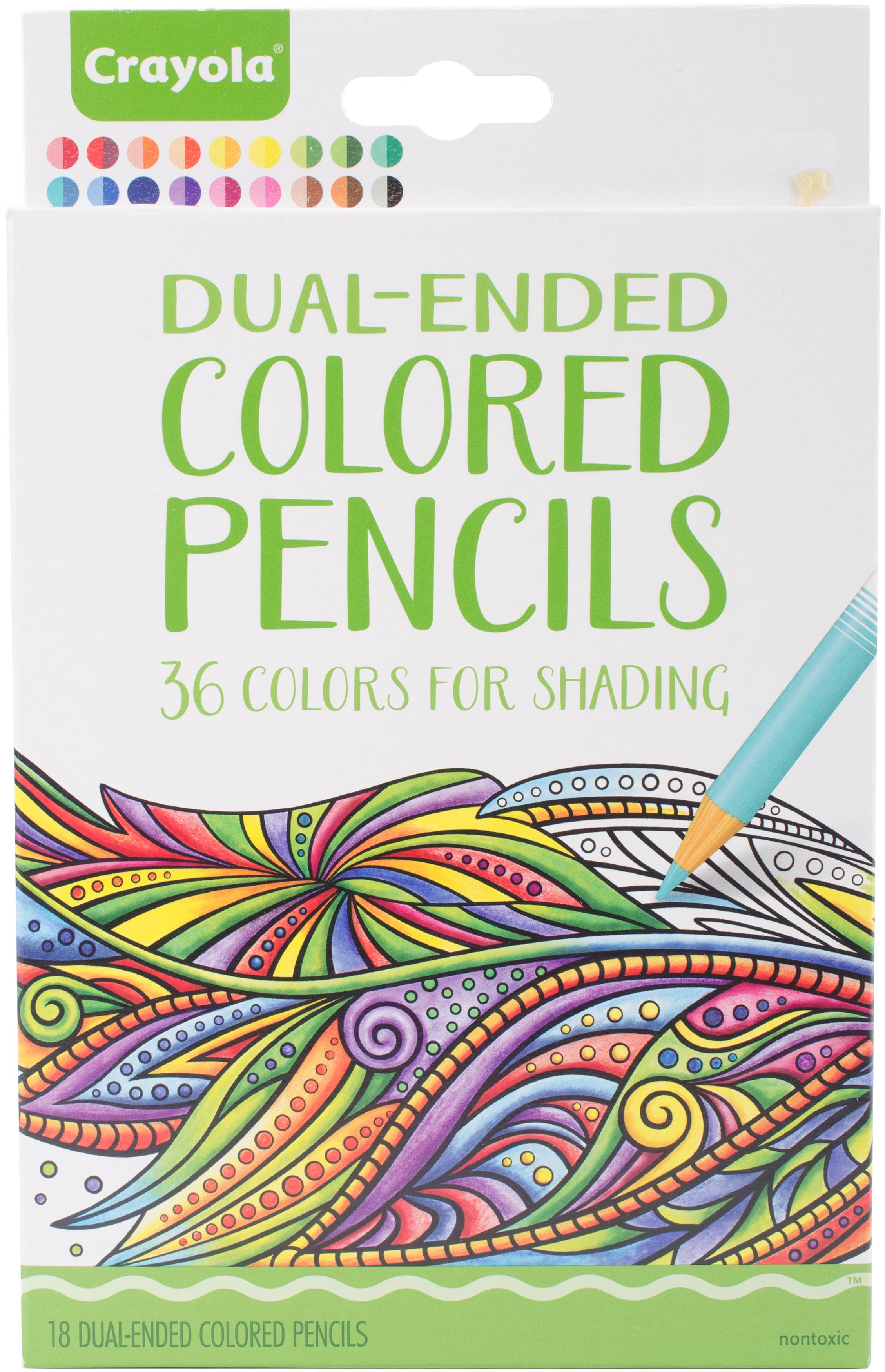 Crayola Dual-Ended Colored Pencils For Shading - Walmart.com
