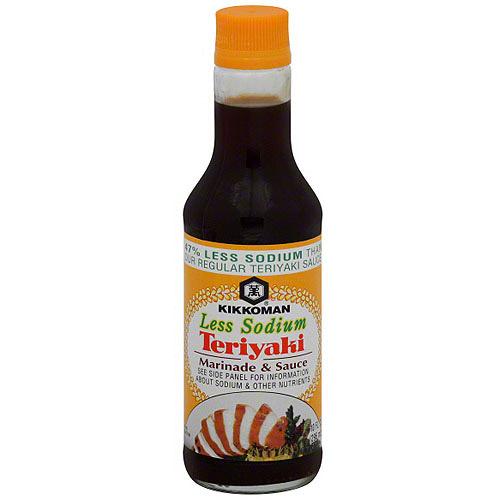 Kikkoman Lite Teriyaki Sauce, 10 oz (Pack of 12)