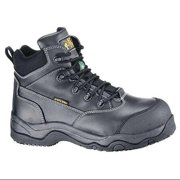 SHOES FOR CREWS 8280H WorkBoots,Unisex,10-1/2,B,Blk,Plastic,PR G0168056
