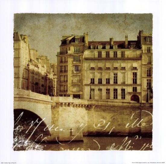 Golden Age of Paris III Poster Print by Wild Apple Studio (12 x 12)