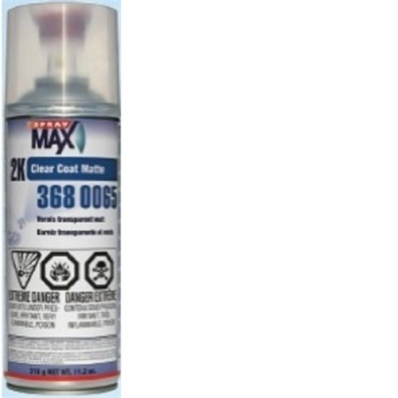 U. S. Chemical & Plastics 2K Matte Clear Coat, Aerosol