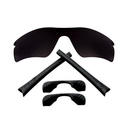 Replacement Lenses Kit Compatible with OAKLEY RADAR PATH Polarized Black & Black (Radar Path Oakley)