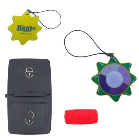 HQRP Key Button pad 2 Buttons + Panica Repair Folding Flip Key FOB compatible with Seat Ibiza 2002 2003 2004 2005 2006 02 03 04 05 06 + UV Meter