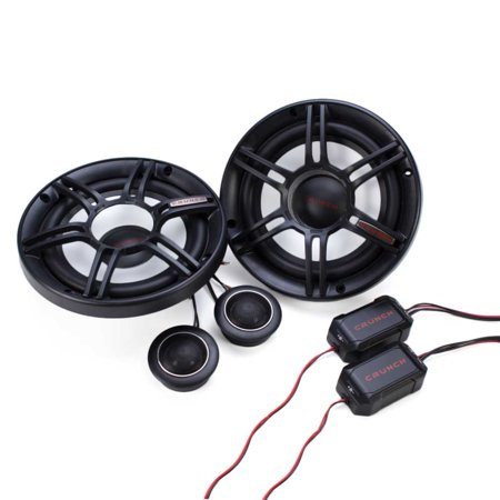 300w Component - Crunch 300W Full Range 2 Way 4 Ohm Component Car Audio 6.5