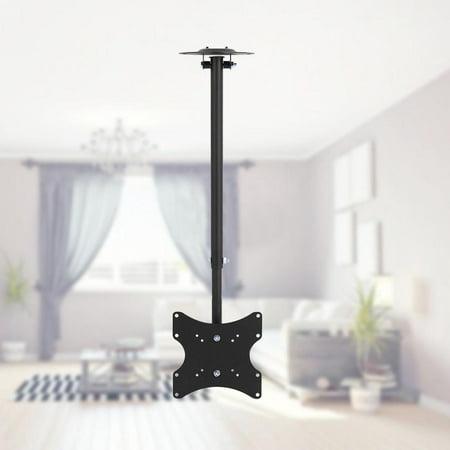 Ejoyous TV Ceiling Mount,360° Swivel TV Ceiling Mount VESA 23 -42  TV Bracket LCD LED Monitor  Hanger