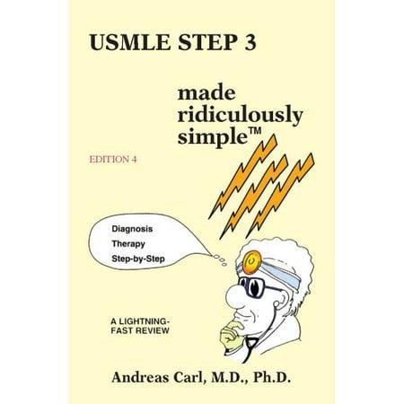 USMLE Step 3: Made Ridiculously Simple