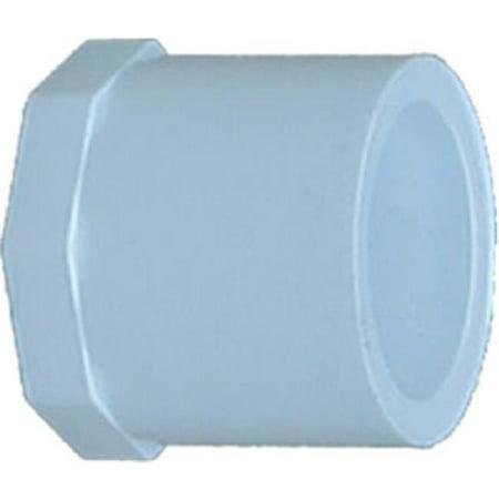 Genova Products 31840 2 in. Plug Spigot, White - image 1 de 1