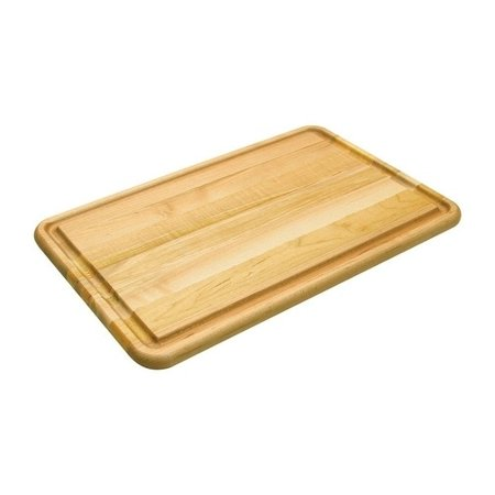 - Snow River  20 in. L x 14 in. W Natural  Natural  Wood  Pastry/Turkey Board