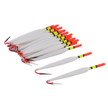 Freshwater Plastic Floating Slip Drift Tube Indicator Fishing Bobber White 20pcs
