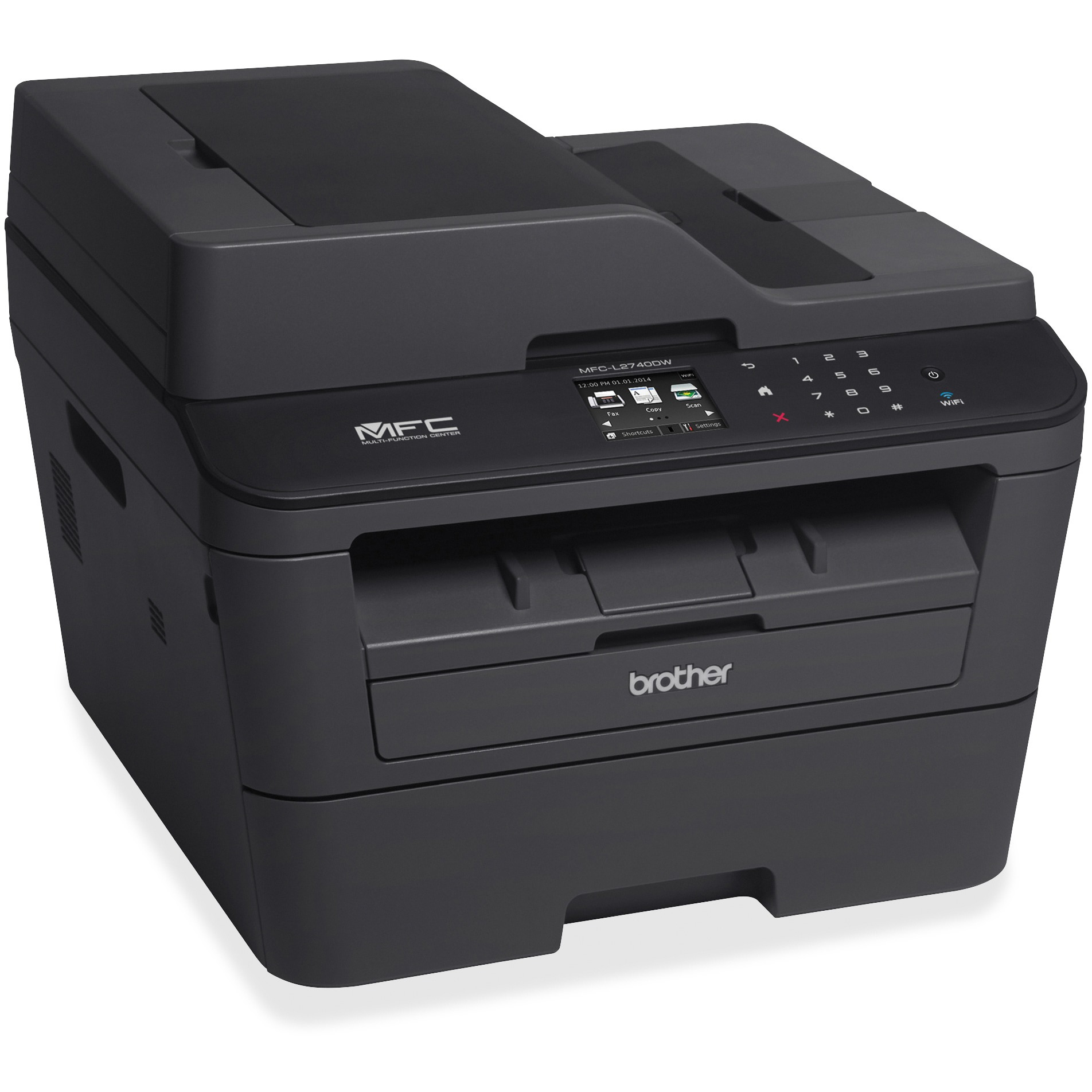 Brother MFCL2740DW Wireless Monochrome Laser AllinOne Printer
