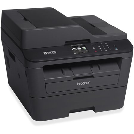 Brother MFC-L2740DW Wireless Monochrome Laser All-in-One Printer with