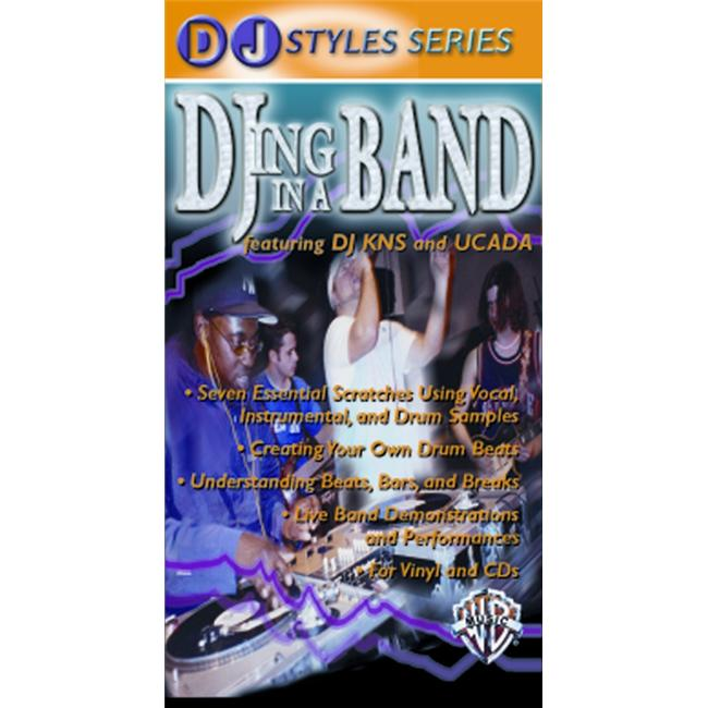 Alfred 00-903544 DJ Styles Series- DJing in a Band - Music Book