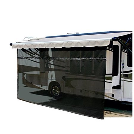 Carefree 701007 Black 10 X 7 Drop Rv Awning Ez