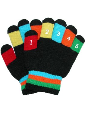 Grand Sierra Toddler 2-4T Knit Stretch Counting Gloves