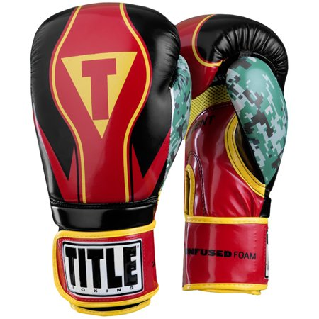 Title Boxing Infused Foam Honor Combat Hook and Loop Training