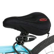 JCXAGRNew Wider Bicycle Silicone Cushion Soft Pad Bike Silica Gel Seat Saddle Cover