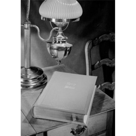 Posterazzi SAL255421395 Bible on Bedside Table Poster Print - 18 x 24 in.