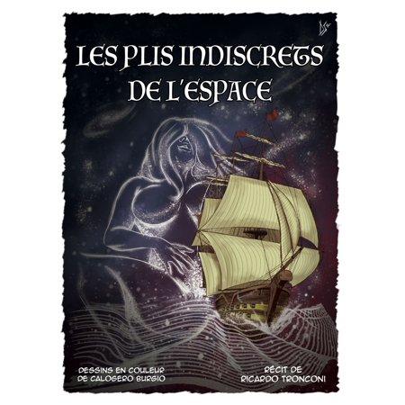 Les plis indiscrets de l'espace - bande dessinée en couleur et nouvelle -