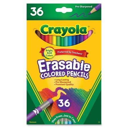 Crayola Erasable Colored Pencils, 36 - Crayola Erasable Colored Pencils