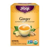 Yogi Tea, Ginger, Tea Bags, 16 Ct