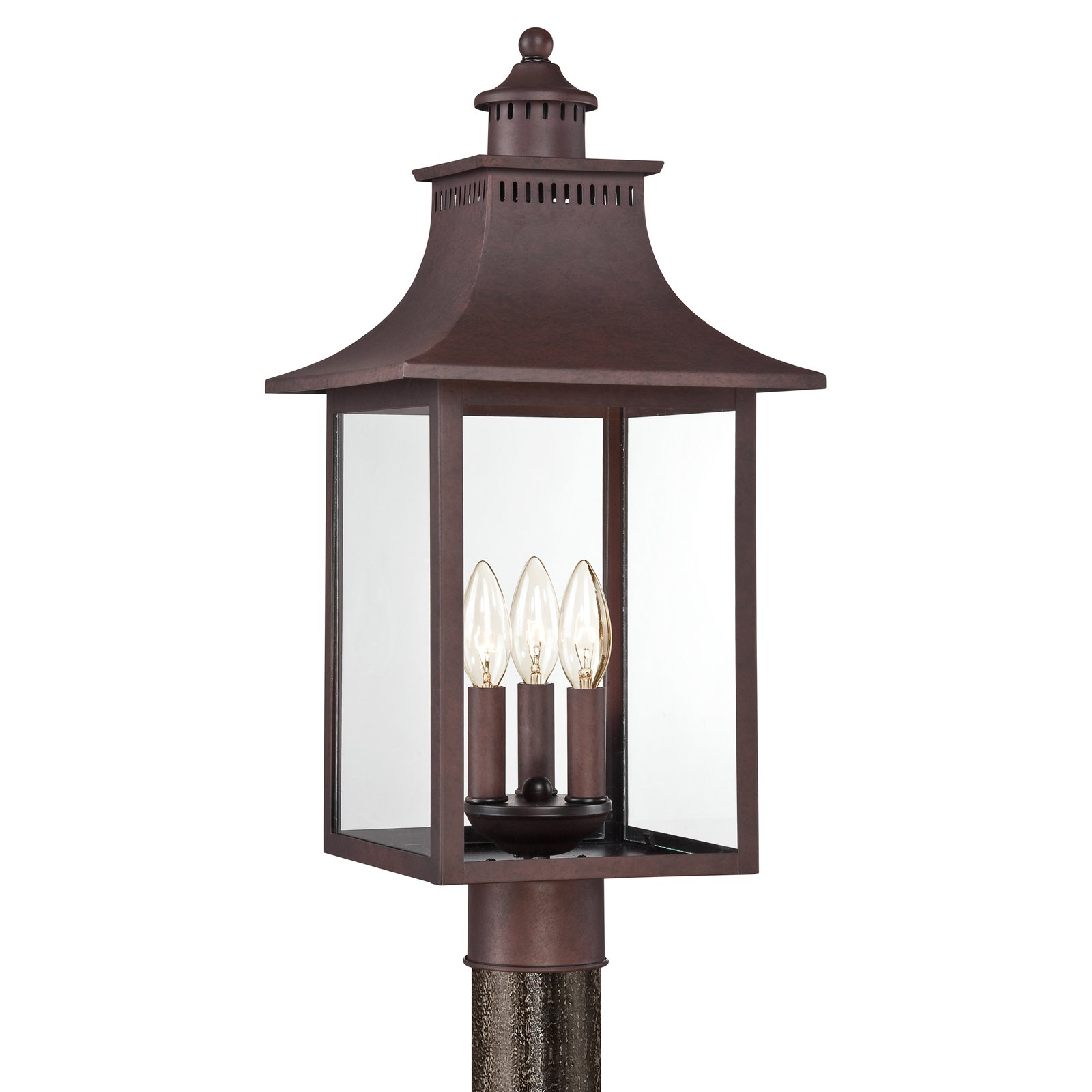 Quoizel Chancellor CCR9010CU Outdoor Post Lantern