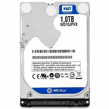 5400rpm 8mb Notebook Hard Drive - WD Blue 1TB 2.5 inches (9.5mm height) Laptop Notebook Internal SATA 6Gb/s Hard Drive 5400RPM Model WD10JPVX