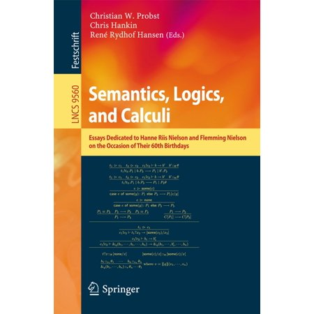 Semantics, Logics, and Calculi - eBook
