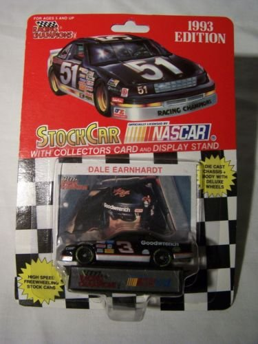 1993 Racing Champions Dale Earnhardt Sr #3 GM Goodwrench Monte Carlo Black Window car 1 64... by