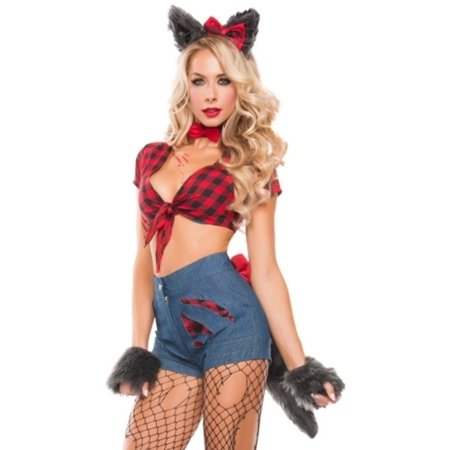 Sexy Hungry Werewolf Costume Starline S5007 Red/Blue - Wearwolf Costume