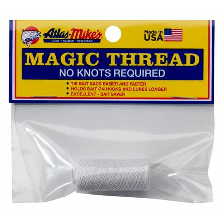 Atlas Mike's Thread White 100' - 66011 ()
