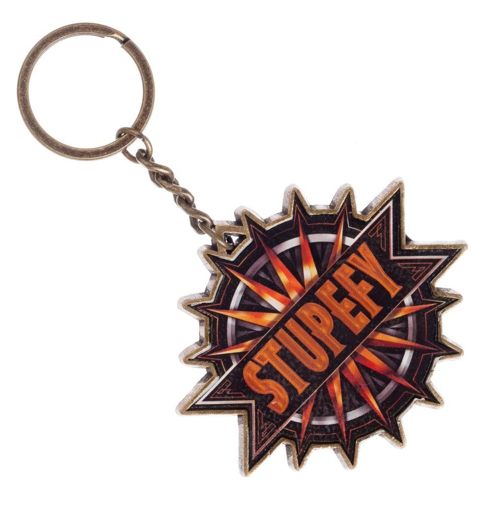 Fantastic Beast Metal Stupefy Keychain Keyring Where to Find Them - image 1 de 1