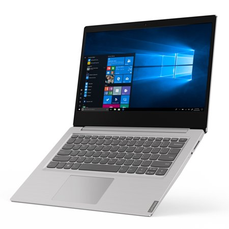 "Lenovo ideapad S145 14.0"" Laptop, Intel Pentium Gold 5405U Dual-Core Processor, 4GB Memory, 128GB Solid State Drive, Windows 10 - Grey - 81MU007NUS"