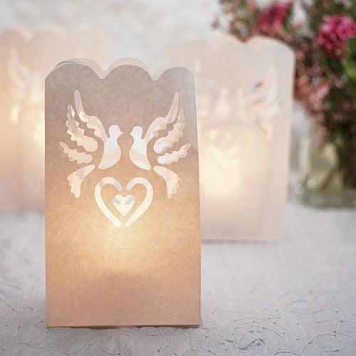Paper Lantern Wedding Luminaries Decorations