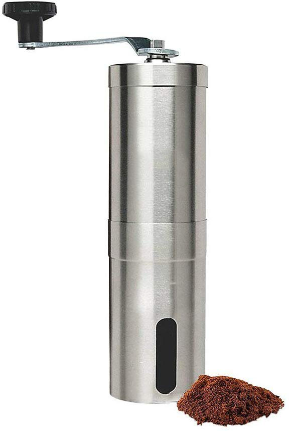 Manual Coffee Grinder with Adjustable Setting - Conical ...