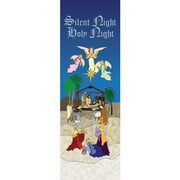 Banner-Silent Night Holy Night (Indoor)