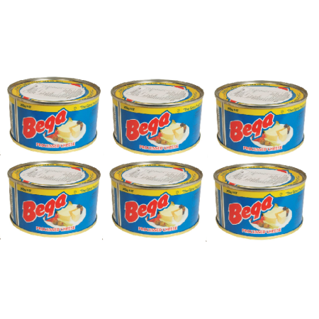 Bega Cheese 6 Cans of High Quality Cheese, 200g