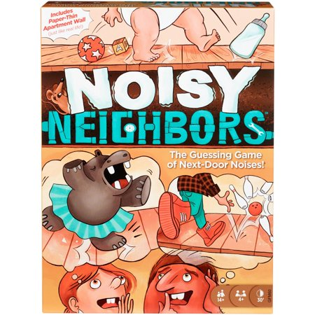 Noisy Neighbors Charades-Style Family Game for Ages 14Y+