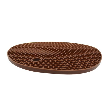 Silicone Pot Holder Non-slip Table Mat Heat resistant Place Mat Multipurpose Place Mat Coffee