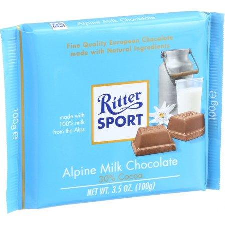 Ritter Sport Milk Chocolate, 3.5 Oz.