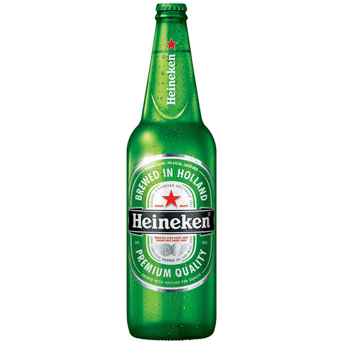 Great Heineken Lager Beer, 22 Fl Oz Bottle