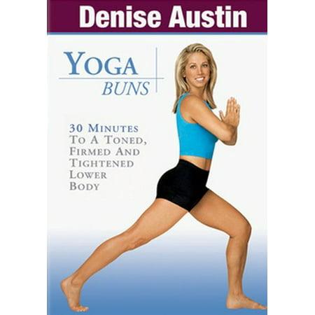 Denise Austin: Yoga Buns (DVD)