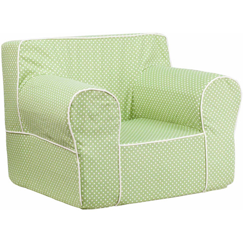 Oversized Kid's Chair with White Piping, Multiple Colors