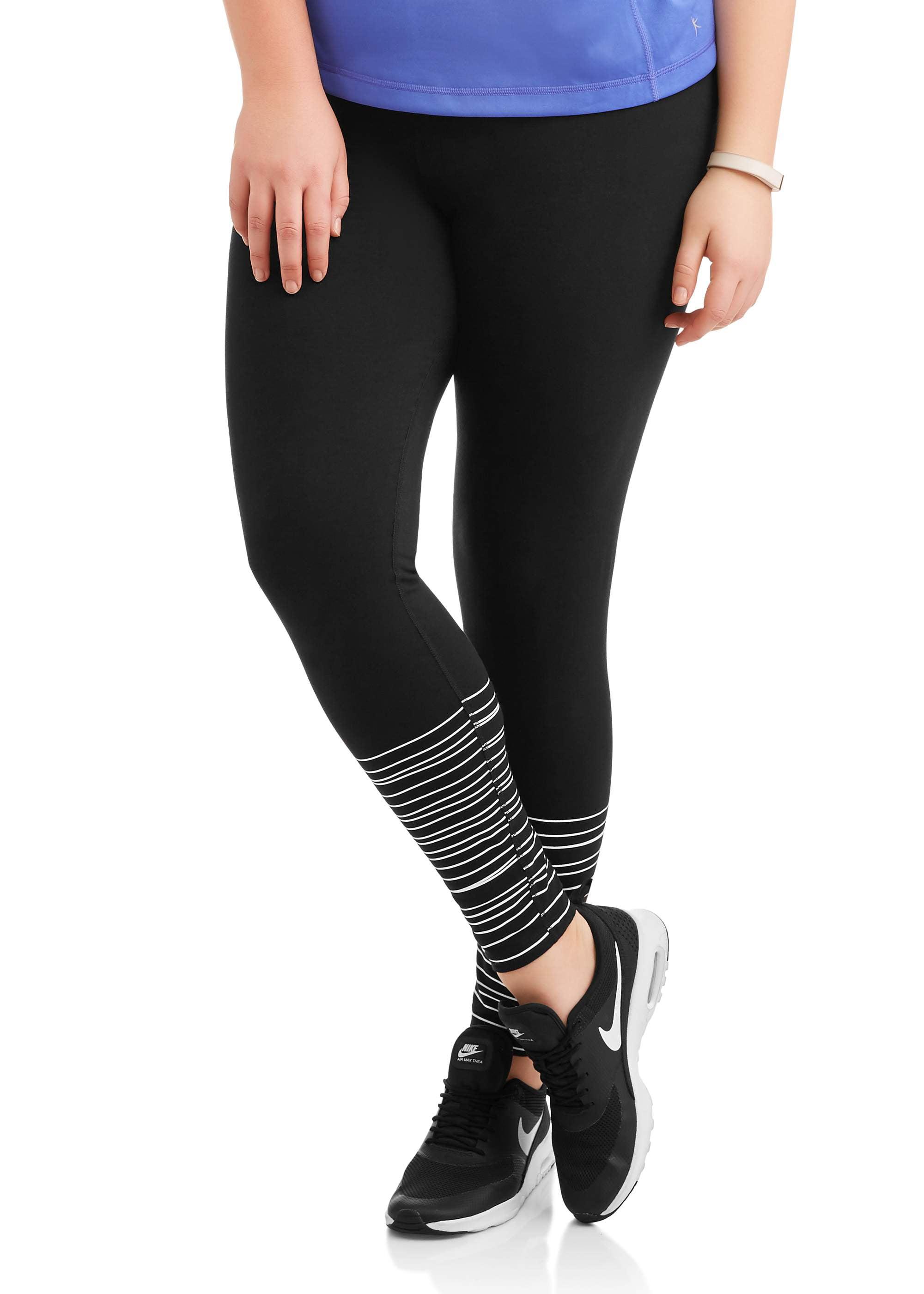 4f02174f43c Danskin Now Women s Plus Active Graphic Legging Black Size 2X --J1 ...