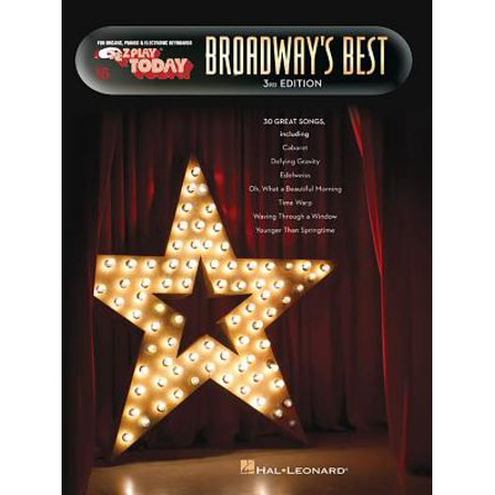 Broadway's Best : E-Z Play Today Volume 16