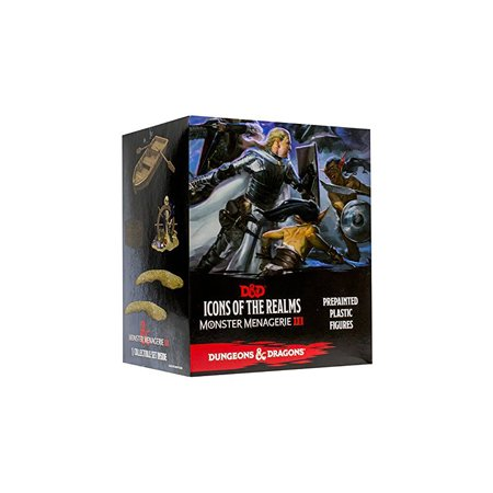 Wizkids D&D Icons of the Realms: Monster Menagerie 3 Case Incentive - Kraken and (D&d Icons Of The Realms Monster Menagerie 2)