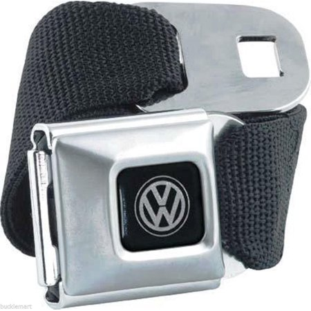Genuine Volkswagen VW Logo Seatbelt Belt with Buckle seat belt by BuckleDown Gmc Seat Belt