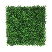 Artificial Hedge Plant, Faux Greenery Panel, UV Protected Faux Greenery Mats, Suitable for Both Outdoor or Indoor, Garden, Backyard and Home Dcor,20 x 20 Inch